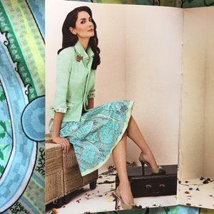 """Elie Tahari """"Vintage Collection"""" pleated skirt"""